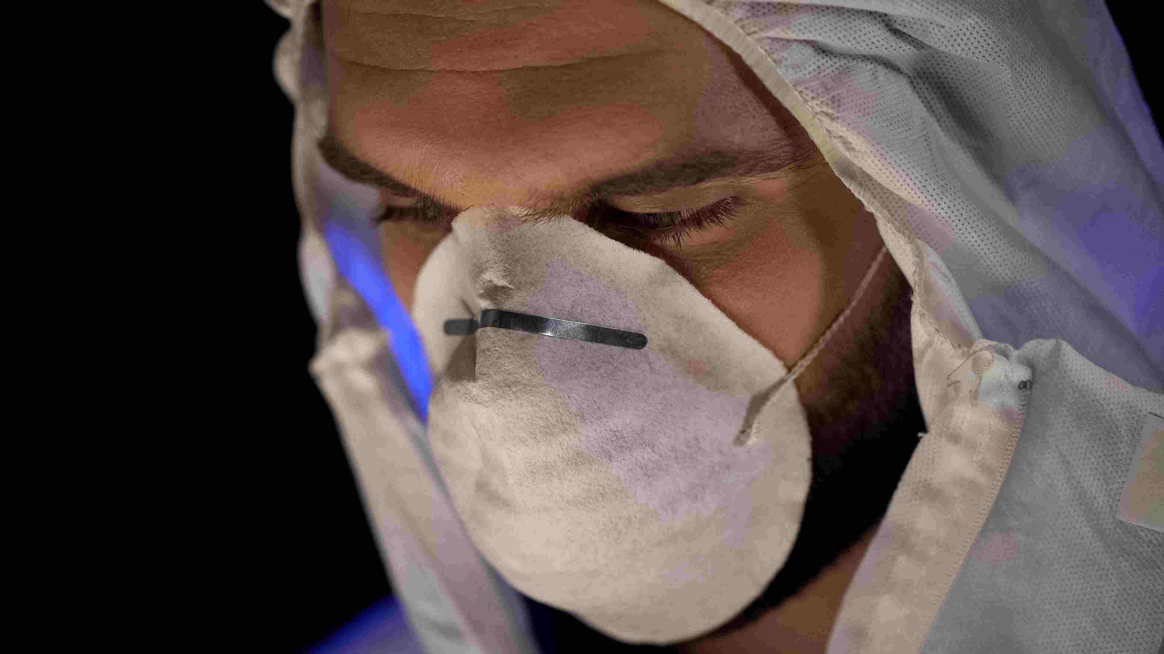 Staubmaske gegen Holzschutzmittel und Gift