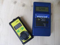 Dosimeter für Radon und Geigerzähler
