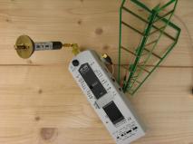 Breitbandmessgerät für Elektrosmoguntersuchung
