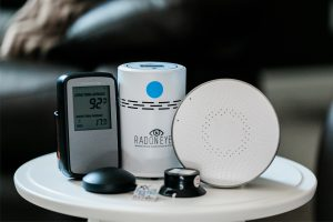 Radonbelastung messen