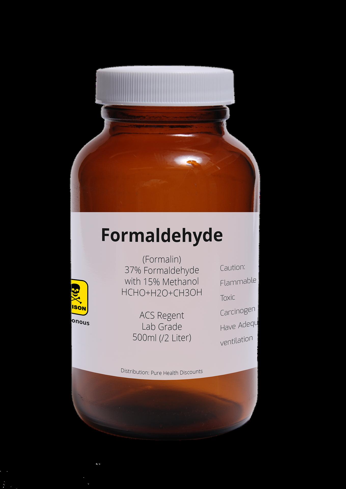 Formaldehyd kann man messen