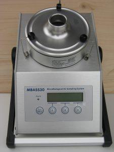 Messgerät für Schimmelbefall in der Luft